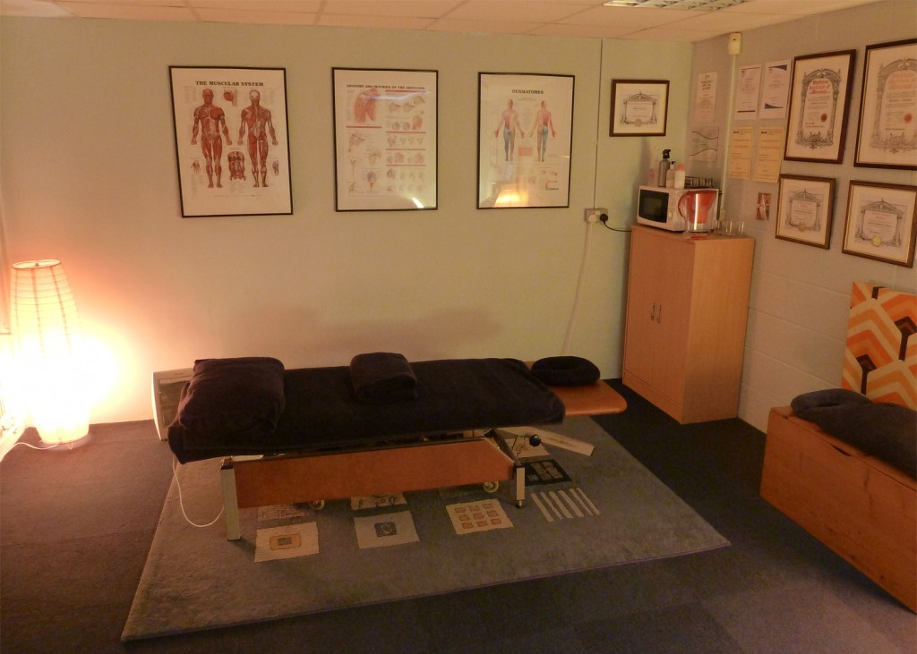 Muscle Clinic Massage Room Plymouth